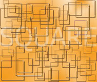 Fond carré illustration de vecteur