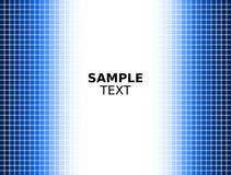 Fond carré bleu de Digitals illustration stock