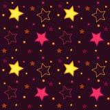 Fond carré d'étoiles Photographie stock libre de droits