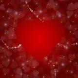 Fond carré d'amour Photographie stock libre de droits
