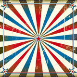 Fond carré patriotique Image libre de droits