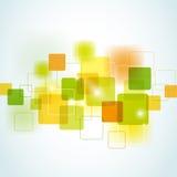 Fond carré abstrait Images stock