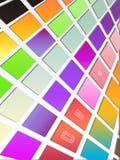 Fond carrelé coloré Image libre de droits