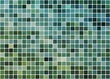 Fond carrelé de bleu et de turquoise Photo libre de droits