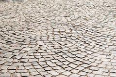 Fond carrelé de trottoir image libre de droits