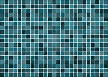 Fond carrelé de turquoise Images stock