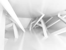 Fond chaotique d'architecture de conception de construction Images stock