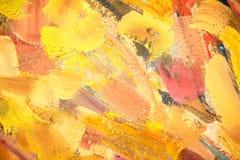 Fond chaud de peinture de couleur Photo libre de droits