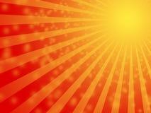 Fond chaud du soleil d'été Photo libre de droits
