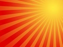 Fond chaud du soleil d'été Image stock