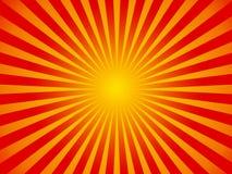 Fond chaud du soleil d'été illustration libre de droits