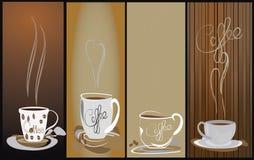 Fond chaud et humide de tasse de café 4 Image libre de droits