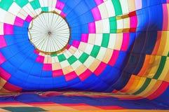 Fond chaud multicolore abstrait lumineux de ballon à air image libre de droits
