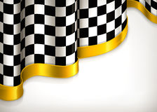 Fond Checkered d'invitation Image libre de droits