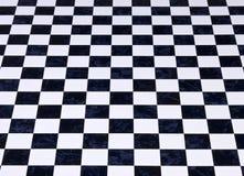 Fond Checkered de marbre Images stock