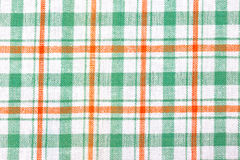 Fond Checkered de textile Image libre de droits