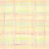 Fond checkered grunge sans joint d'aquarelle Images libres de droits