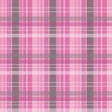 Fond checkered rose Images libres de droits