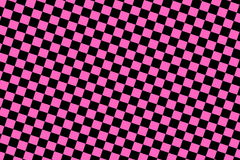 Fond checkered rose Image libre de droits