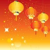 Fond chinois de vacances illustration stock