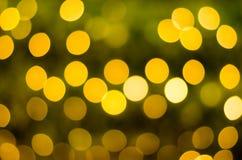 Fond circulaire abstrait de bokeh de jour de Noël et de nouvelle année Image stock