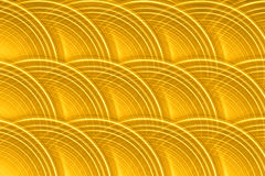 Fond circulaire de disque d'or Images stock