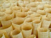Fond circulaire de tube de tissu Images libres de droits