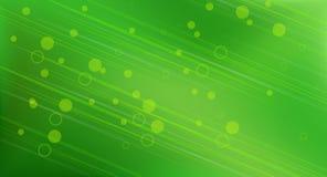 Fond circulaire vert abstrait Photographie stock libre de droits