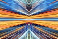 Fond clair convergent de tache floue Photographie stock