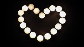Fond clair d'amour de coeur Photographie stock libre de droits