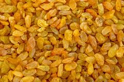 Fond clair de raisins secs de variété photos stock
