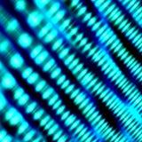 Fond clair lumineux artistique Illustration bleue abstraite Formes brouillées de turquoise de lumière Bent Defocused Lcd Screen L Photographie stock