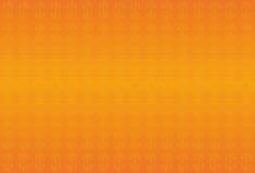 Fond classique orange avec des remous Éléments d'or Photos stock