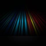 Fond coloré abstrait. illustration stock
