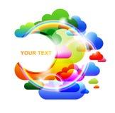 Fond coloré abstrait Photo stock
