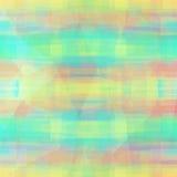 Fond coloré abstrait avec des lignes, la texture et des formes Fond lumineux pour les cartes de voeux ou le tissu de mode Photos libres de droits