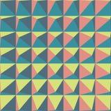 Fond coloré abstrait avec des pyramides avec le perspe différent Image libre de droits