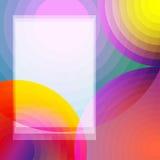 Fond coloré abstrait avec des roundas Illustration Stock