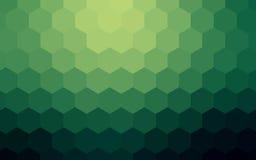 Fond coloré abstrait d'hexagones Photo stock