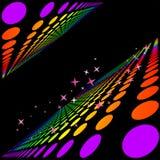 Fond coloré abstrait de cercle Illustration de Vecteur