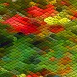 Fond coloré abstrait de la mosaïque 3d EPS8 Images libres de droits