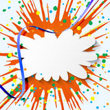 Fond coloré abstrait de vacances Images stock