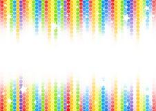 Fond coloré abstrait de vecteur illustration libre de droits