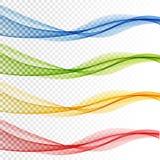 Fond coloré abstrait de vecteur, vague de couleur pour la brochure de conception, site Web, insecte illustration libre de droits