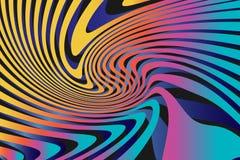 Fond coloré abstrait géométrique de modèle Photo libre de droits