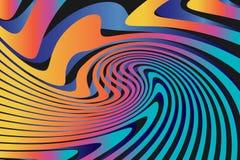 Fond coloré abstrait géométrique de modèle Images libres de droits