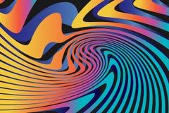 Fond coloré abstrait géométrique de modèle Photo stock