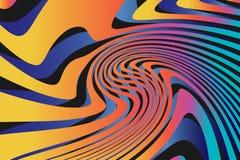 Fond coloré abstrait géométrique de modèle Photographie stock libre de droits
