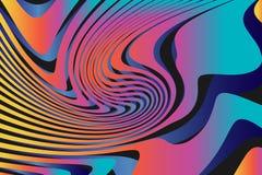 Fond coloré abstrait géométrique de modèle Photos stock