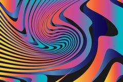 Fond coloré abstrait géométrique de modèle Image libre de droits